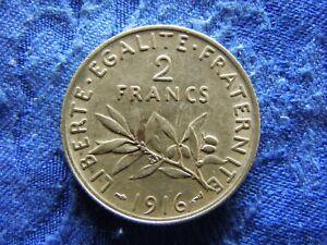 FRANCE 2 FRANCS 1916, KM845.1