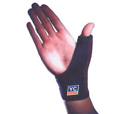 2 Neoprene Thumb Wrist Adjustable Support Glove Bandage Brace Arthritis Sprain
