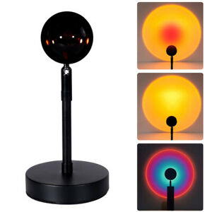 Sunset Floor Lamp,Sunset Lamp Rainbow Modern Stand Lamp for Living Room/Bedroom