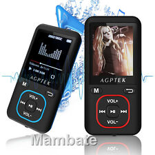 AGPtEK 2018 Latest Version 8GB 70 Hours with FM MP3 Lossless Sound Music Player