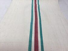 Toile pour sac à grains, en coton  /vintage Hemp feed/grain sack fabric.