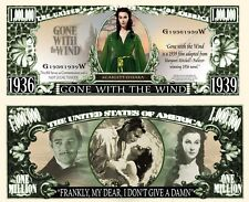 OUR GONE WITH THE WIND DOLLAR BILL (2 Bills)