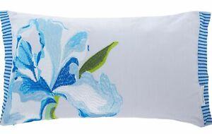 Designers Guild  Antoinette Wedgwood Breakfast Pillow New 28cm x 50cm x 1