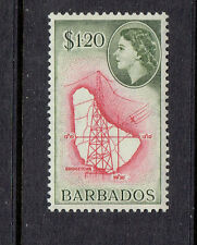 BARBADOS #246 mint never hinged MAP  part set high value 1956