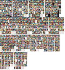 [14 sets] DRAGONBALL HEROES, SR+R+C cards, 756 cards [H,GM,HG,JM,HJ,GDM,HGD]