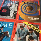 Time+Magazine+Man+On+The+Moon+Lot+Of+4+Magazines+1969+3+Non-Sub+All+Authentic