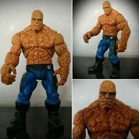 "RARE Fantastic Four The Thing TALKING 6"" Action Figure Toy Biz Marvel 2005"