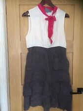 Anthopologie Girls From Savoy Dress Uk 12 (US 10= 14 But Runs Small)