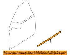 MAZDA OEM 99-03 Protege FRONT DOOR-Body Side Molding Left BJ0E50692