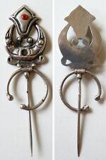fibule argent massif silver 19e siècle Kabyle Algérie Maghreb ethnique