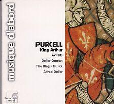 Purcell KING ARTHUR [extraits] DELLER CONSORT, The King's Musick, ALFRED DELLER