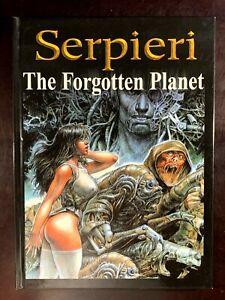 Heavy Metal THE FORGOTTEN PLANET Serpieri Hardcover Graphic Novel Book 2003 1st