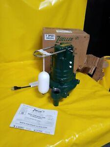 Zoeller 137-0001 Model M137 1/2 HP Flow-Mate Cast Iron Effluent Pump