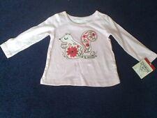 Baby girls Osh kosh t-shirt 12 month pink new