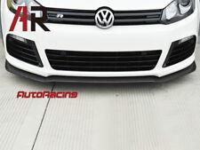 Carbon Fiber Front Bumper Spoiler for Volkswagen Golf VI MK6 R20 2012-2013 only
