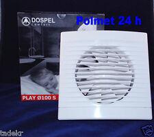 Badlüfter Dospel Play 125 mm Timer u.Feuchtigkeitssensor