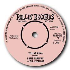 "CHRIS FARLOWE & THE EXCELLOS - ""TELL ME MAMA"" WILD ROCKIN' BLUES 45 - LISTEN!!"