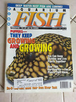 Aquarium Fish International Magazine August 1997 Puffers - They Keep Growing