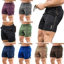 Mens Fitness Sport Shorts Football Pants Dry Fit Gym Workout Training Running