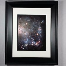 Hubble Space Telescope Universe Star Clusters Poster Photo Print - Matted Framed