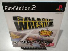 Galactic Wrestling featuring Ultimate Muscle Demo Disc PS2 Playstation 2