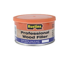 Rustins Professional Wood Filler 500g White Quick Drying Indoor & Outdoor