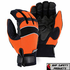 MAJESTIC INSULATED WATERPROOF WINDPROOF ARMORSKIN MECHANICS GLOVES SIZE 2XL