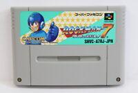 Rockman 7 Mega Man SFC Nintendo Super Famicom SNES Japan Import US Seller I5277