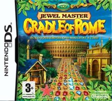 Jewel Master Cradle Of Rome NDS Nintendo DS DSi XL Brand New