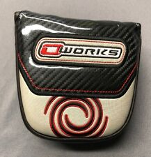 Odyssey O-Works Mallet Putter Cover Headcover (Magnetic)(#050819N)