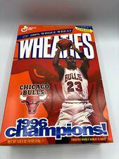 Wheaties Cereal Box Michael Jordan Chicago Bulls 1996 Champions!