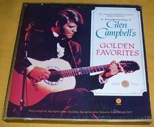 GLEN CAMPBELL - GOLDEN FAVORITES / 5 LP BOX SET 52 trk CAPITOL LONGINES SOCIETY