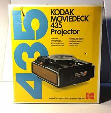 KODAK MOVIEDECK 435 PROJECTOR SUPER 8 8MM PORTABLE MOVIE.