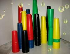 20 PLASTIC CONES AUTISM STACKING TOYS, CRAFTS  - NEW