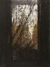 Michael Morgner-Ecce homo-barajar/tinta china sobre prägedruck 1992