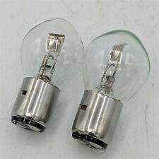 2New S2- Scooter Snowmobile Atv Lighting Light Bulbs 12V35/35W Ba20D 12728