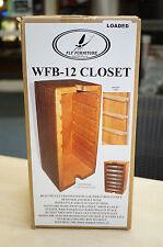 FLY Furniture Wapsi USA wfb-12 Closet torre di legno con 7 scatole in plastica