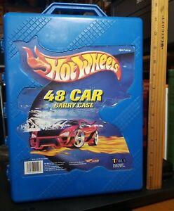 Hot Wheels 48 Car Carry Case Storage 2001 Mattel #20020 USA