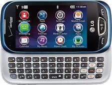 LG Extravert 2 VN280 - Blue (Verizon) Prepaid 3G Qwerty Slider Touch Smartphone