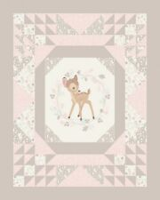 Bambi Baby Cheater panel cotton print Lisc. Springs