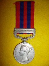 India General Service Medal 1854-95, bar, Hazara 1891, to 11th Bengal Lancers