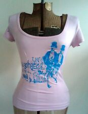 BLOOD BROTHERS band home screened woman's shirt XOXO blouse seattle Medium S M