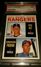 2013 Topps Heritage #261- Jurickson Profar/Mike Olt Rookie Card! PSA MINT 9!