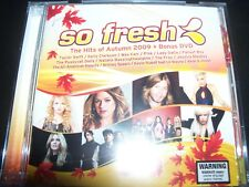 So Fresh Hits Of Autumn 2009 CD DVD FT Taylor Swift Pink Lady Gaga Britney Spear