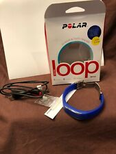 Polar Loop 24 Hour Activity Tracker Monitor In Misty Blue Slightly Used