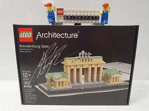 Lego® Architecture 21011 Brandenburger Tor- handsigniert Tucker - Neu - OVP Top