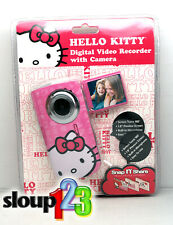 *HELLO KITTY DIGITAL VIDEO RECORDER WITH CAMERA - WITH EDITING SOFTWARE*