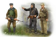 Trumpeter ® 00433 Soviet soldiers en afganistán fue personajes en 1:35