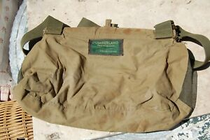 Vintage 50s Cumberland Tapatco Made Fishing clothes bag pouch nice and rare