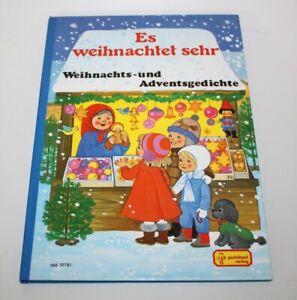 Es weihnachtet sehr - Weihnachts- und Adventsgedichte Pestalozzi Verlag RAR